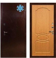 Дверь с терморазрывом Сибирь 3К / Дуб натуральный (панель №15)