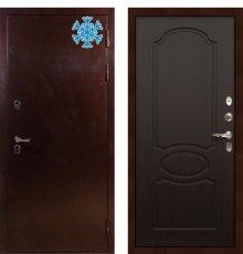 Дверь с терморазрывом Сибирь 3К / Венге (панель №13)