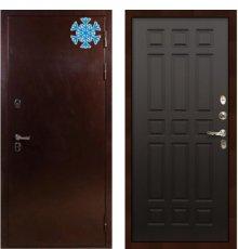 Дверь с терморазрывом Сибирь 3К / Венге (панель №29)