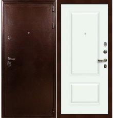 Дверь Цезарь 5А / Вероника Белая эмаль (панель №55)