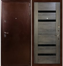 Дверь Цезарь 5А / Неро Графит шале (панель №65)