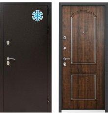 Дверь Цербер 11 термо Лесной орех