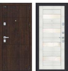 Дверь Браво Porta M 4.П23 Almon 28/Bianco Veralinga