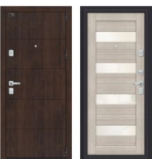Дверь Браво Porta M 4.П23 Almon 28/Cappuccino Veralinga