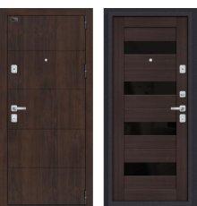 Дверь Браво Porta M 4.П23 Almon 28/Wenge Veralinga