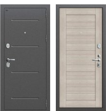 Дверь Браво Т2-221 Антик Серебро/Cappuccino Veralinga