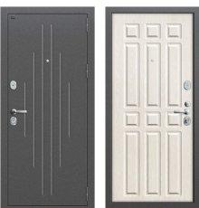 Дверь Браво Р2-215 Антик Серебро/П-25 (Беленый Дуб) фото