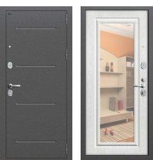 Дверь Браво Р2-216 Антик Серебро/П-25 (Беленый Дуб)
