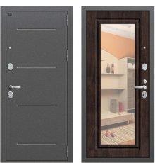 Дверь Браво Р2-216 Антик Серебро/П-28 (Темная Вишня)