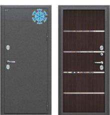 Дверь Браво  Термо 204 Антик Серебро/Wenge Veralinga