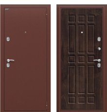 Дверь Браво Старт Антик Медь/П-28 (Темная Вишня) фото