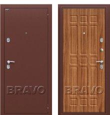 Дверь Браво Старт Антик Медь/П-8 (Янтарный Дуб)