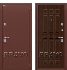 Дверь Браво Старт Антик Медь/П-33 (Венге)
