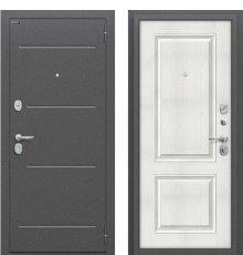 Дверь Браво Стиль Антик Серебро/Bianco Veralinga