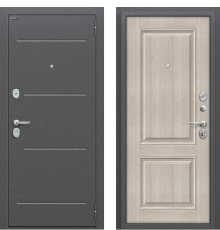 Дверь Браво Стиль Антик Серебро/Cappuccino Veralinga