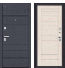 Дверь Браво Сканди П-37 (Graphite Wood)/Cappuccino Softwood/White Pearl