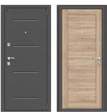 Дверь Браво Porta R 104.П21 Антик Серебро/Light Sonoma фото