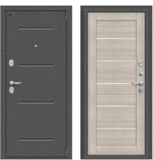 Дверь Браво Porta S 104.П22 Антик Серебро/Cappuccino Veralinga