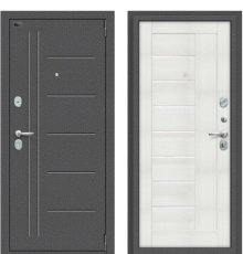 Дверь Браво Porta S 109.П29  Антик Серебро/Bianco Veralinga