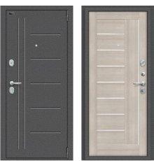 Дверь Браво Porta S 109.П29 Антик Серебро/Cappuccino Veralinga