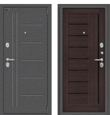 Дверь Браво Porta S 109.П29 Антик Серебро/Wenge Veralinga