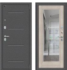 Дверь Браво Porta S 104.П61 Антик Серебро/Cappuccino Veralinga