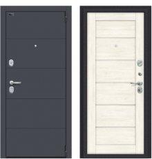 Дверь Браво Porta S 4.Л22 Graphite Pro/Nordic Oak