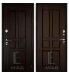 Дверь Оптима-1_ВН-4 грецкий орех