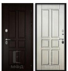 Дверь Оптима-1_ВН-4 сандал белый