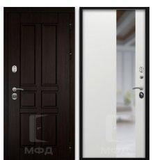 Дверь Оптима-1_ВН-7 белый ясень