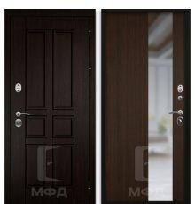 Дверь Оптима-1_ВН-7 грецкий орех