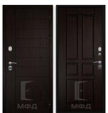Дверь Оптима-2_ВН-4 венге