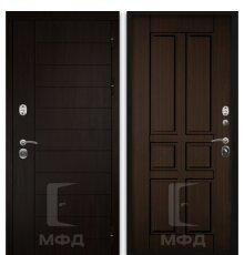 Дверь Оптима-2_ВН-4 грецкий орех