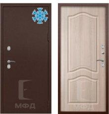 Дверь Термо-1МА_ВН-23 сандал белый
