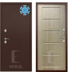 Дверь Термо-1МА_ВН-6 капучино фото