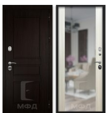 Дверь входная Экстра-1 ВН-8 сандал белый