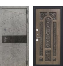 Дверь Luxor-31 Д-19 винорит грецкий орех