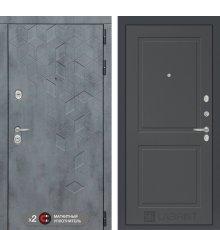 Дверь  Бетон 11 - Графит софт