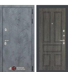 Дверь Бетон 10 - Дуб филадельфия графит