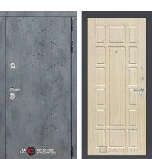 Дверь Бетон 12 - Беленый дуб