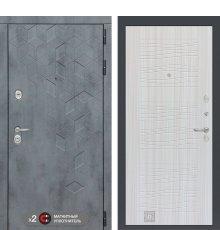 Дверь Бетон 06 - Сандал белый