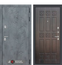 Дверь Бетон 16 - Алмон 28