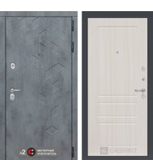 Дверь Бетон 03 - Сандал белый