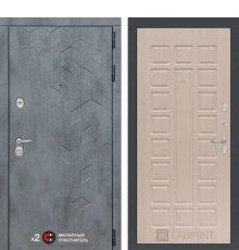 Дверь Бетон 04 - Беленый дуб