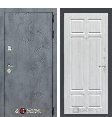 Дверь Бетон 08 - Кристалл вуд