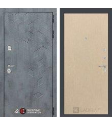Дверь Бетон 05 - Венге светлый фото