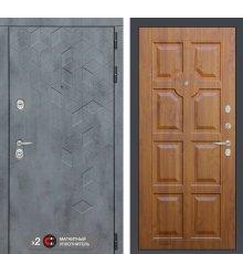 Дверь Бетон 17 - Золотой дуб