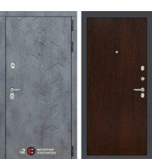 Дверь Бетон 05 - Венге фото