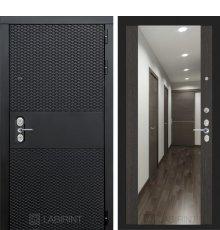 Дверь BLACK с зеркалом Максимум - Венге