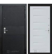 Дверь BLACK 14 - Дуб кантри белый горизонтальный